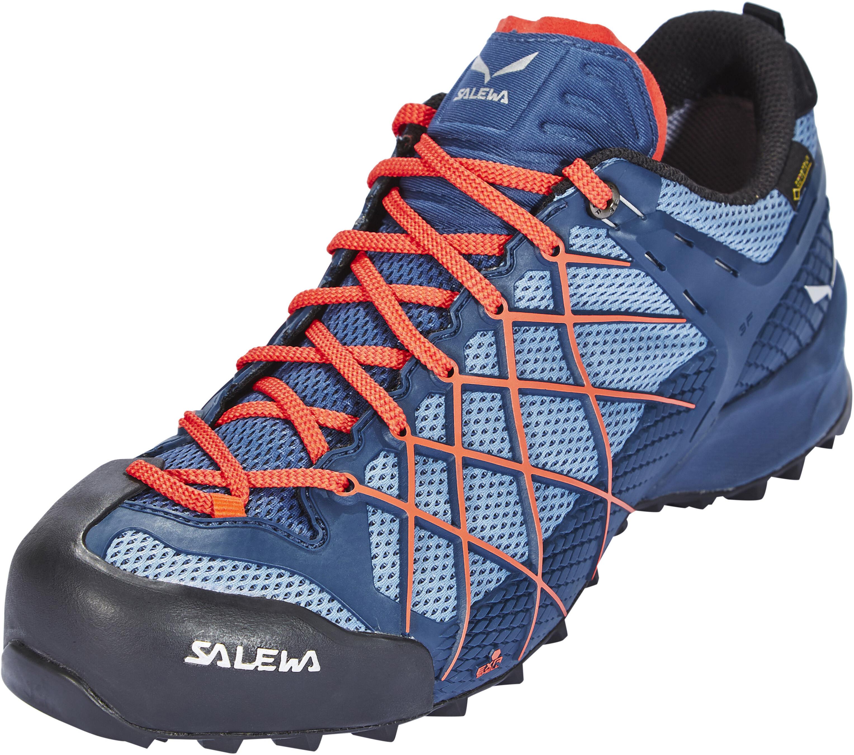 f3aa8e82d3651 SALEWA Wildfire GTX Shoes Herren dark denim/papavero   campz.ch